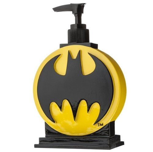 BAT SIGNAL ~ Batman Soap Dispenser (Water Pump Robin)