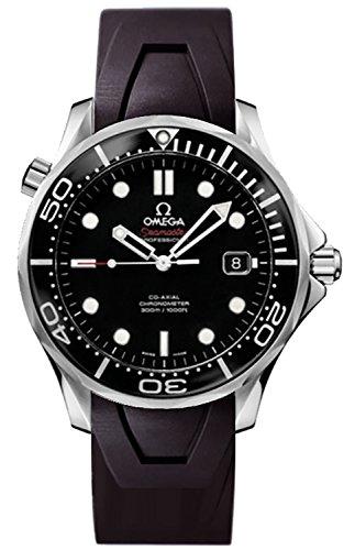 omega mens black watch - 3