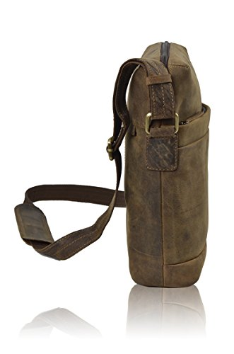 TONYS BAGS  4079A, Borsa Messenger  Uomo Unisex adulti Donna marrone Brown m