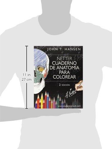 Cuaderno de anatomía para colorear + StudentConsult: Netter: VARIOS ...