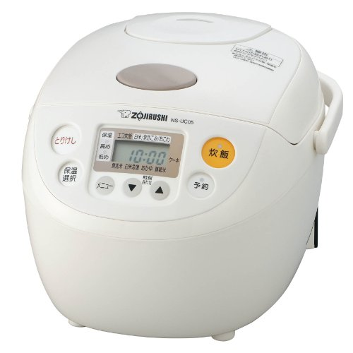 ZOJIRUSHI (3 cups) Rice cooker / Suihanki NS-UC05-WB (White) [JAPAN]