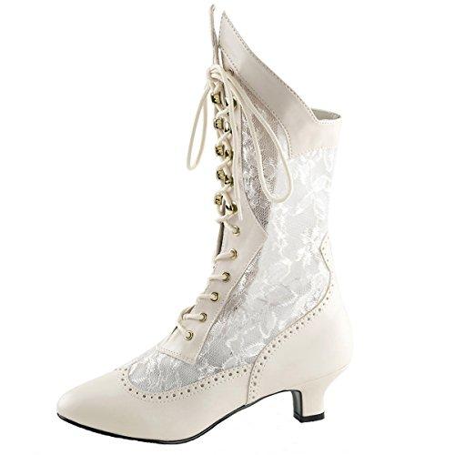 Heels-Perfect Stiefelette, Damen, Beige (Ivory) Beige (ivory)