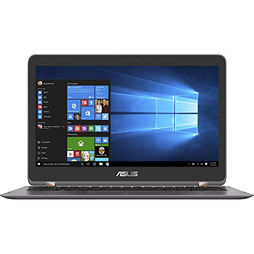 ASUS UX360UA-DS51T 13.3-Inch Touchscreen Convertible Laptop (FHD | Core i5-7200U | 8G | 256G)