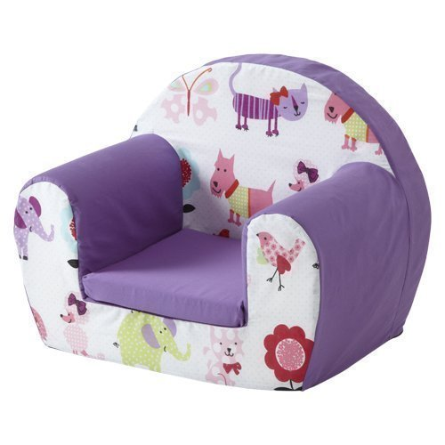 Ready Steady Bed Childrens Toddlers Foam Armchair, Cute Pets