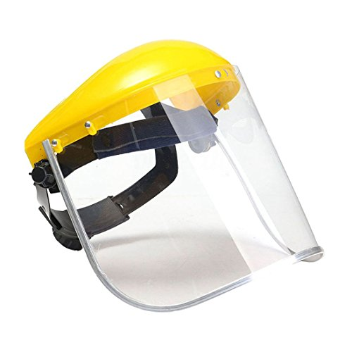clear safety grinding face shield