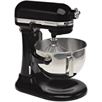 KitchenAid KV25G0X Professional 5 Plus 5-Quart Stand Mixer (Onyx Black)