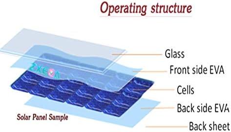 Solar Panel EVA Film 1000mm Encapsulation Superior Durability Cell Accessories