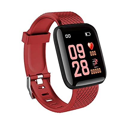 YOZOOE Smart Bracelet Fitness Tracker Heart Rate Monitor Waterproof Smart Wristband Pedometer Blood Pressure Fitness Tracker Sports amp Outdoors Color T2 Estimated Price -