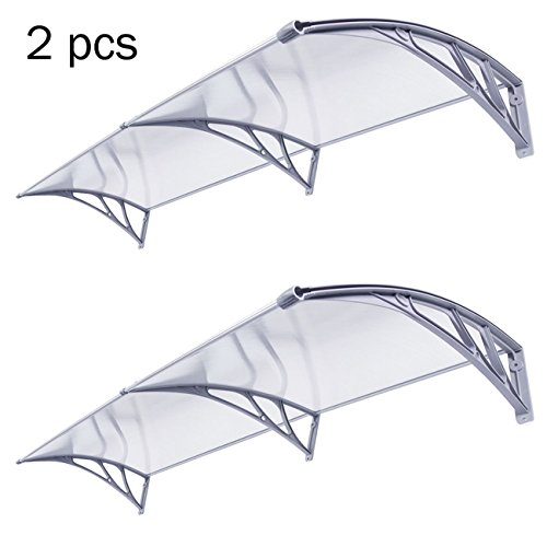 F2C Outdoor Polycarbonate Window Awning