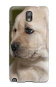 Faddish Phone Labrador Retriever Puppies Case For Galaxy Note 3 / Perfect Case Cover