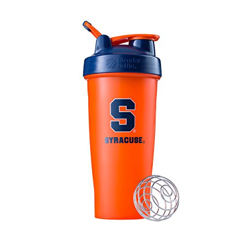 BlenderBottle Classic NCAA Collegiate Shaker Bottle, Syracuse University - Orange/Blue, - Outlets Syracuse