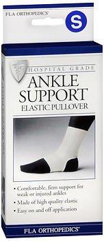 - FLA Orthopedics Elastic Pullover Ankle Support - 1ea, Pack of 6