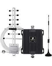 Cell Phone Booster for House Cottage and Office - Boost Voice & Data Signal Repeater Amplifier Kit-Coverage up to 2000sq ft. - Support Rogers, Telus, Fido, Bell etc.