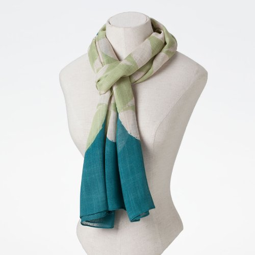 Enesco Jim Shore Scarves js New Cathedral Window Scarf -