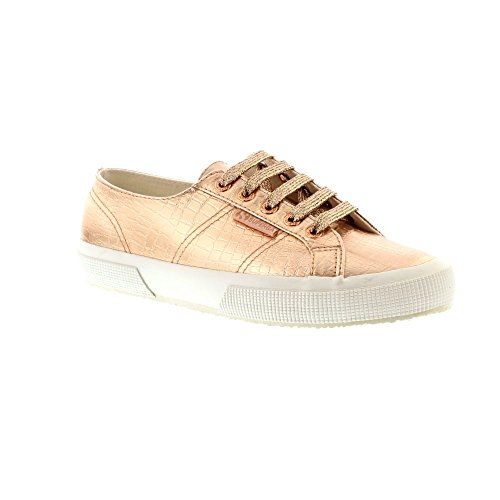 a90204a6e89d0 Superga 2750 Cotmet Embossed Cocco - Rose Gold (Man-Made) Womens Trainers 6  UK - Buy Online in Oman. | Shoes Products in Oman - See Prices, Reviews and  Free ...