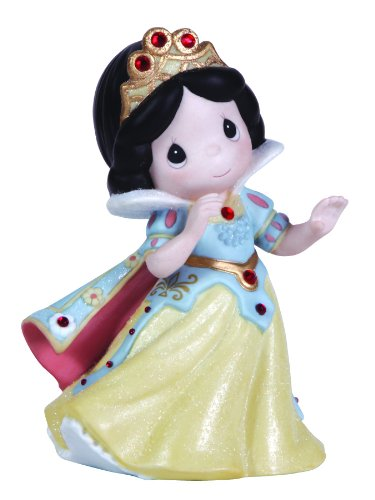 Precious Moments, Disney Showcase Collection, Put A Little Sparkle In Your Heart, Bisque Porcelain Figurine, (Precious Moments Disney Snow)