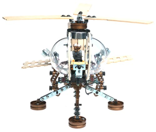 Erector Helicopter Construction Set (Erector Helicopter)