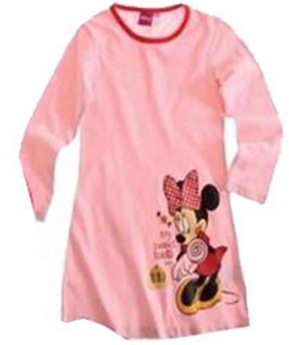 Mädchen-Nachthemd, Motiv Minnie Maus