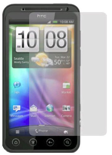 ZAGG InvisibleShield Protective Film Screen Protector for HTC EVO -