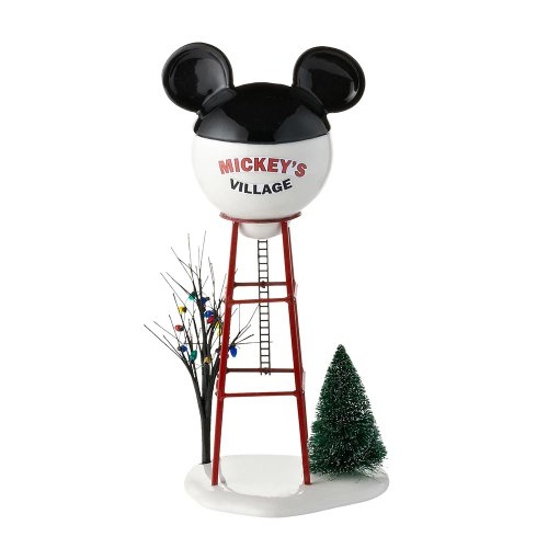 - Department 56 Disney Village Mickey Water Tower Accessory Figurine, 11.875 inch