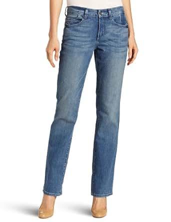 NYDJ Women's Petite Marilyn Straight Fit Jeans, Miami Wash, P
