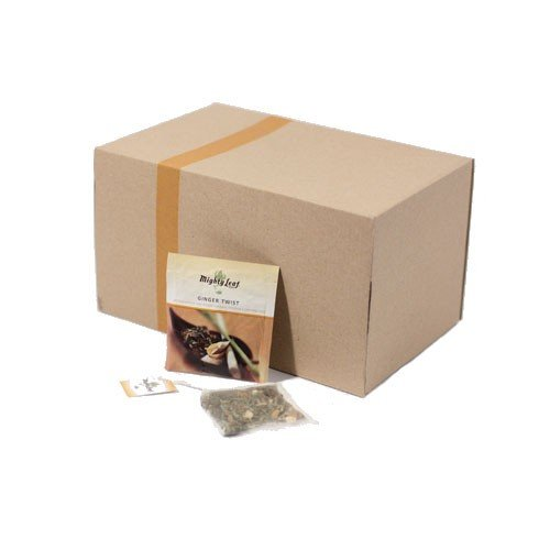 - Ginger Twist - Mighty Leaf (100 Foil Wrapped Tea Pouches)