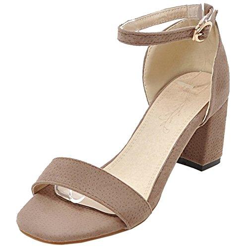 Ouvert VulusValas Elegant Apricot Sandales Bout Femmes ww7At