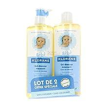 KLORANE BEBE Gel Douceur Moussant Corps Et Cheveux Duo (2 x 500 ml)
