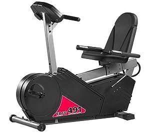 Fitness Quest Edge 491R Programmable Recumbent Bike