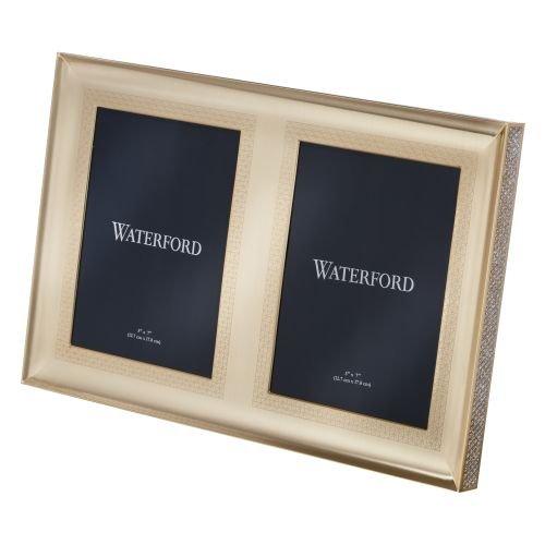 Waterford Lismore Diamond Gold 5x7
