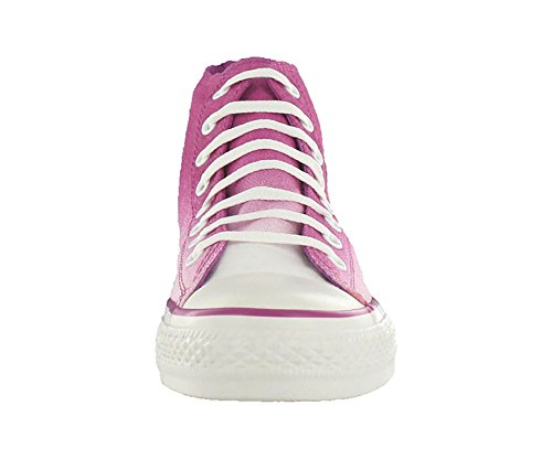 Converse Chuck Taylor Gradiated Hi Ankel-high Canvas Fashion Sneaker Violett / Vit