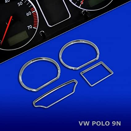 Falke TR10P9N - Juego de Anillos de tacómetro para Volkswagen Polo ...