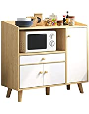 Kitchen Storage Sideboard,Sideboard for Living Roo Buffet Server Cabinet Storage Unit With Doors Sideboard Sideboard Cabinet Cupboard Chest Of Drawers For Bedroom Kitchen Multi-Layer Lockers Storage C