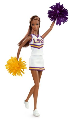 Barbie Collector Louisiana State University African-American Doll -