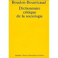 Dictionnaire critique de la sociologie [ancienne édition]