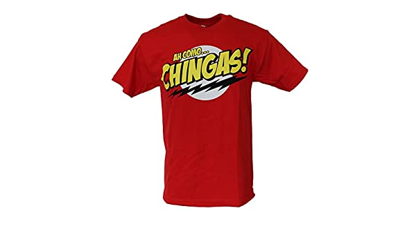78ea6d71 Amazon.com: Ah Como Chingas Mexican Chicano Hispanic Spanish Humor Funny Men's  T Shirt XXX-Large Red: Clothing
