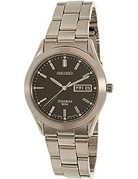Seiko Men's SGG599 Silver Titanium Quartz Watch