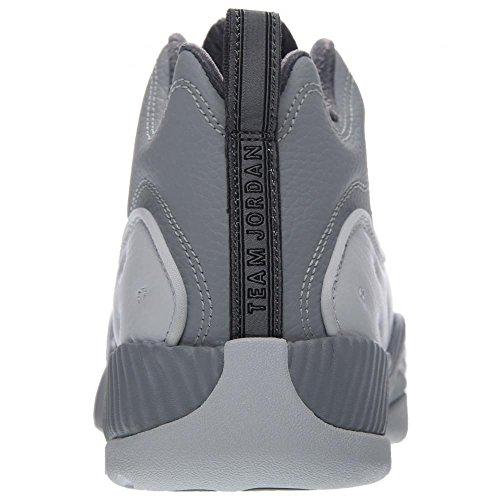Air Jordan Jumpman Team Ii, Blanco / Negro / Wolf Gray / Cool Gray, 13 D (m) Us