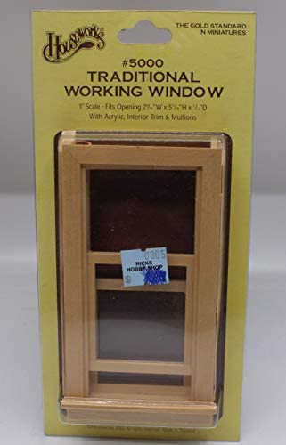 Miniature Double Hung Working Windows Plastic Window View Inc New Lot of 3