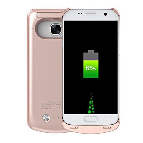 Amazon.com: Samsung Galaxy S7 Protector Rosa Dorado con ...