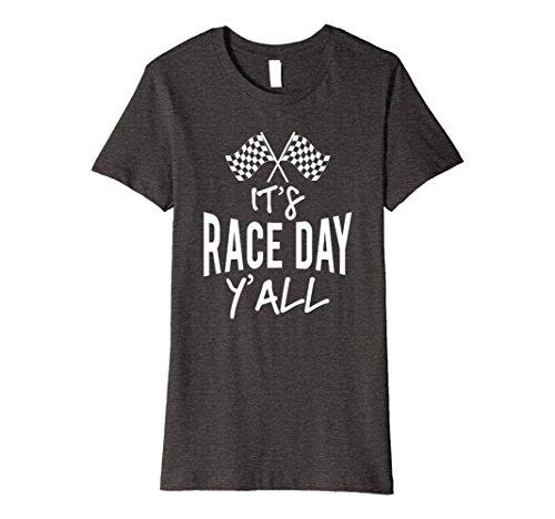Race Day T-shirt (Womens It's Race Day Ya'll Racing Cars T Shirt Large Dark Heather)