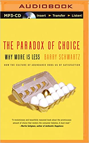 Book Title - Paradox of Choice, The