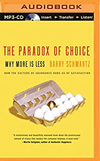 Paradox of Choice, The (149151423X) | Amazon Products