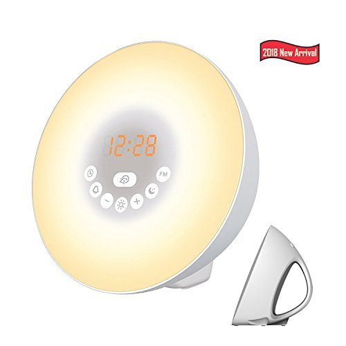 Alarm Clock, Digital LED Wake Up Light Clock