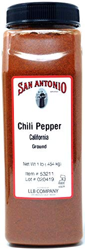 1-Pound Premium Ground California Chile Pepper Chili Powder Seasoning Spice