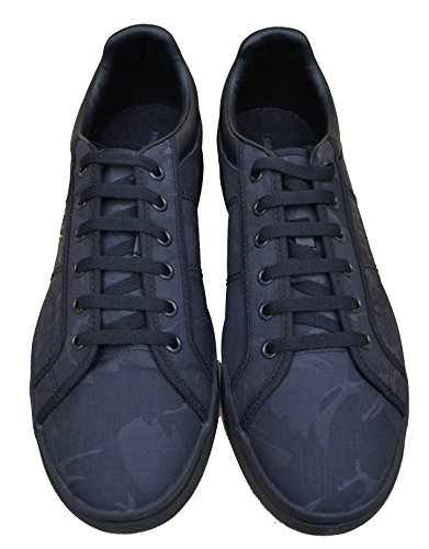 Fred Perry Sneakers Schuhe Sidespin Camo Jacquard B8243 Schwarz Black