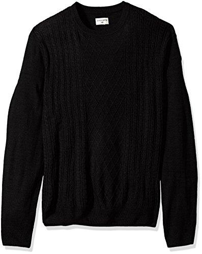 Acrylic Crewneck Sweater - 1