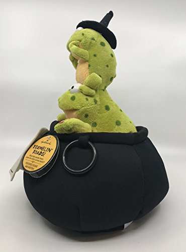 Hallmark Halloween Plush Toy Collectible Tremblin Toads