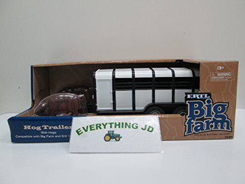 (Ertl Big Farm 1:16 Hog Trailer With Hogs)