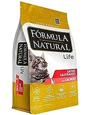 Ração Formula Natural gato Castrado Salmao 15kg